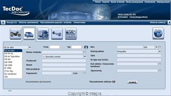 TecDoc WEB CATALOG 2.5 (Abonament na 12 miesięcy) 2032 01.12 TecDoc Information System