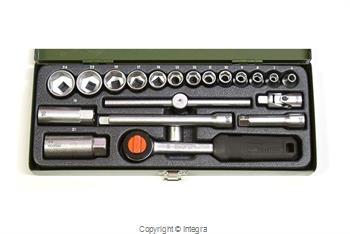 PROXXON zestaw kluczy nasadowych z grzechotką 3/8 20 PR23110 PROXXON
