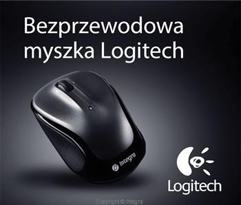 Myszki Logitech M325 Bezprzewodowa - czarna LOGITECH-M325-BLACK